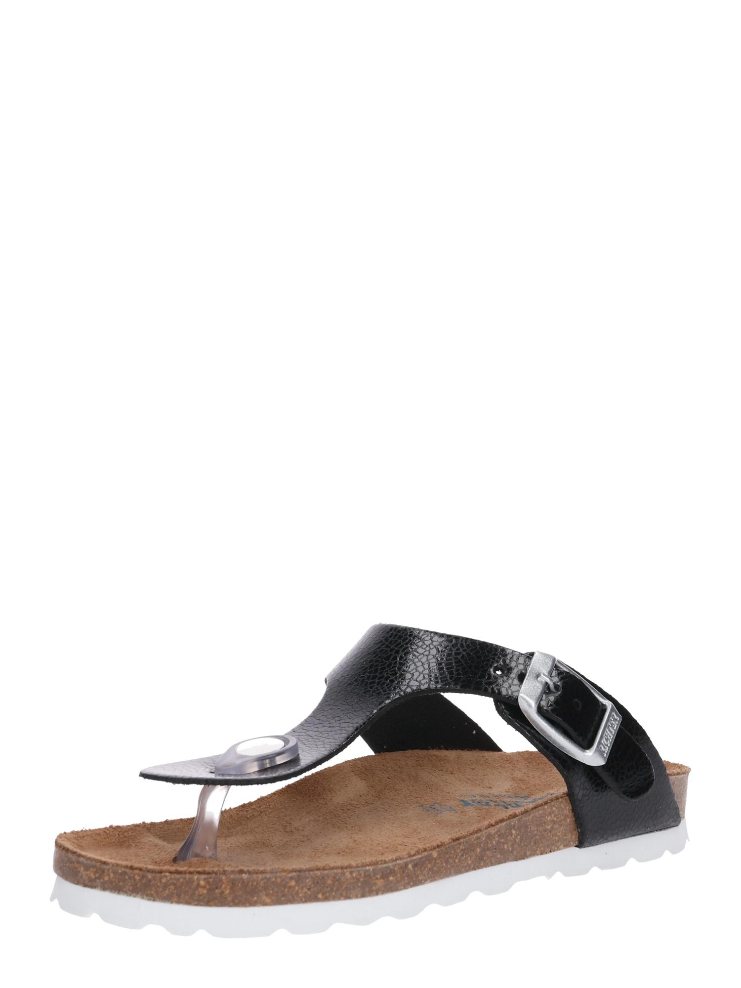 Sandály černá RICHTER