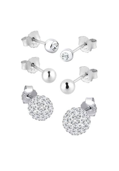 Ohrringe für Frauen - ELLI Ohrringe silber weiß  - Onlineshop ABOUT YOU
