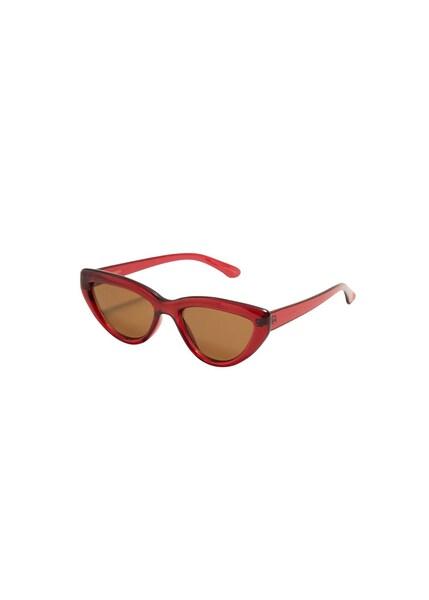 Sonnenbrillen für Frauen - MANGO Sonnenbrille 'Heidi' braun rot  - Onlineshop ABOUT YOU