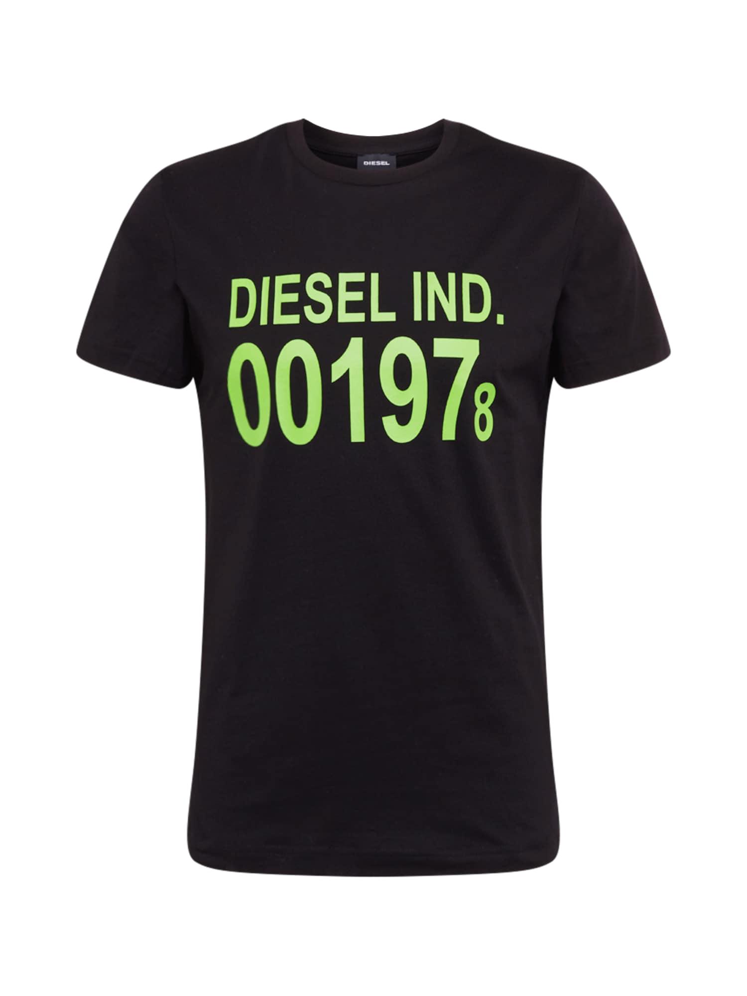 DIESEL Tričko 'DIEGO-001978'  čierna