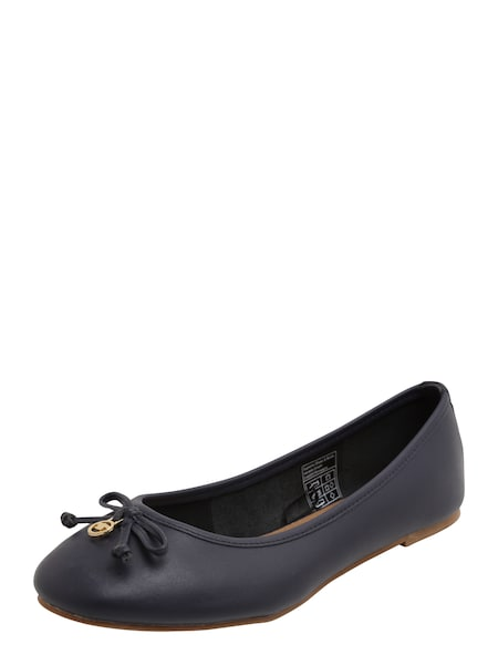 Ballerinas für Frauen - TOM TAILOR Ballerina 'easy' navy  - Onlineshop ABOUT YOU