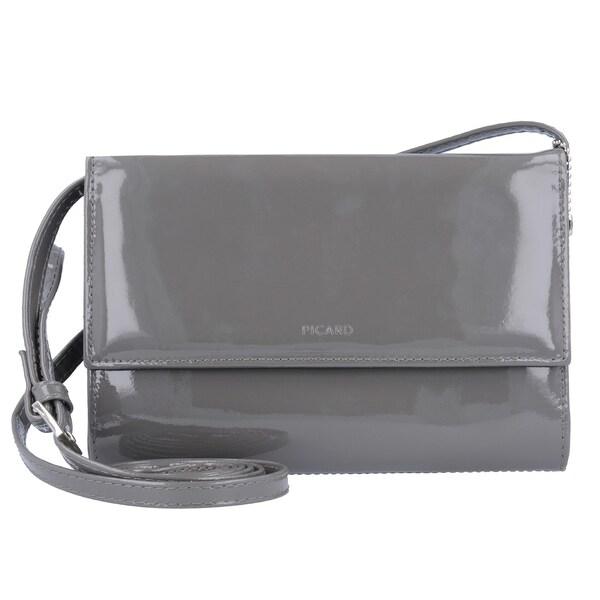 Clutches für Frauen - Picard 'Auguri' Damentasche Leder 19 cm grau  - Onlineshop ABOUT YOU