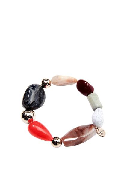 Armbaender - Armband › s.Oliver › weiß schwarz mischfarben  - Onlineshop ABOUT YOU
