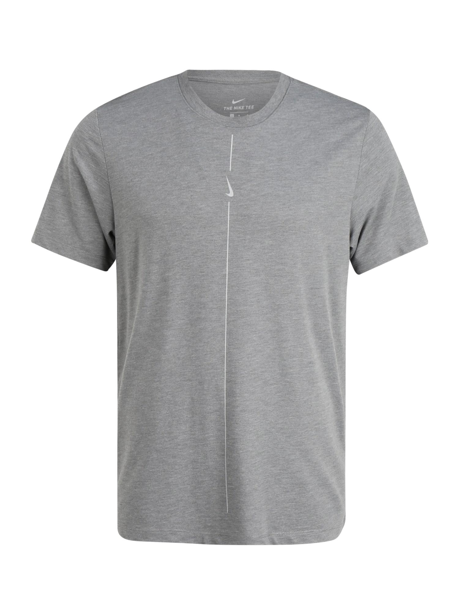 NIKE Tričko  šedá