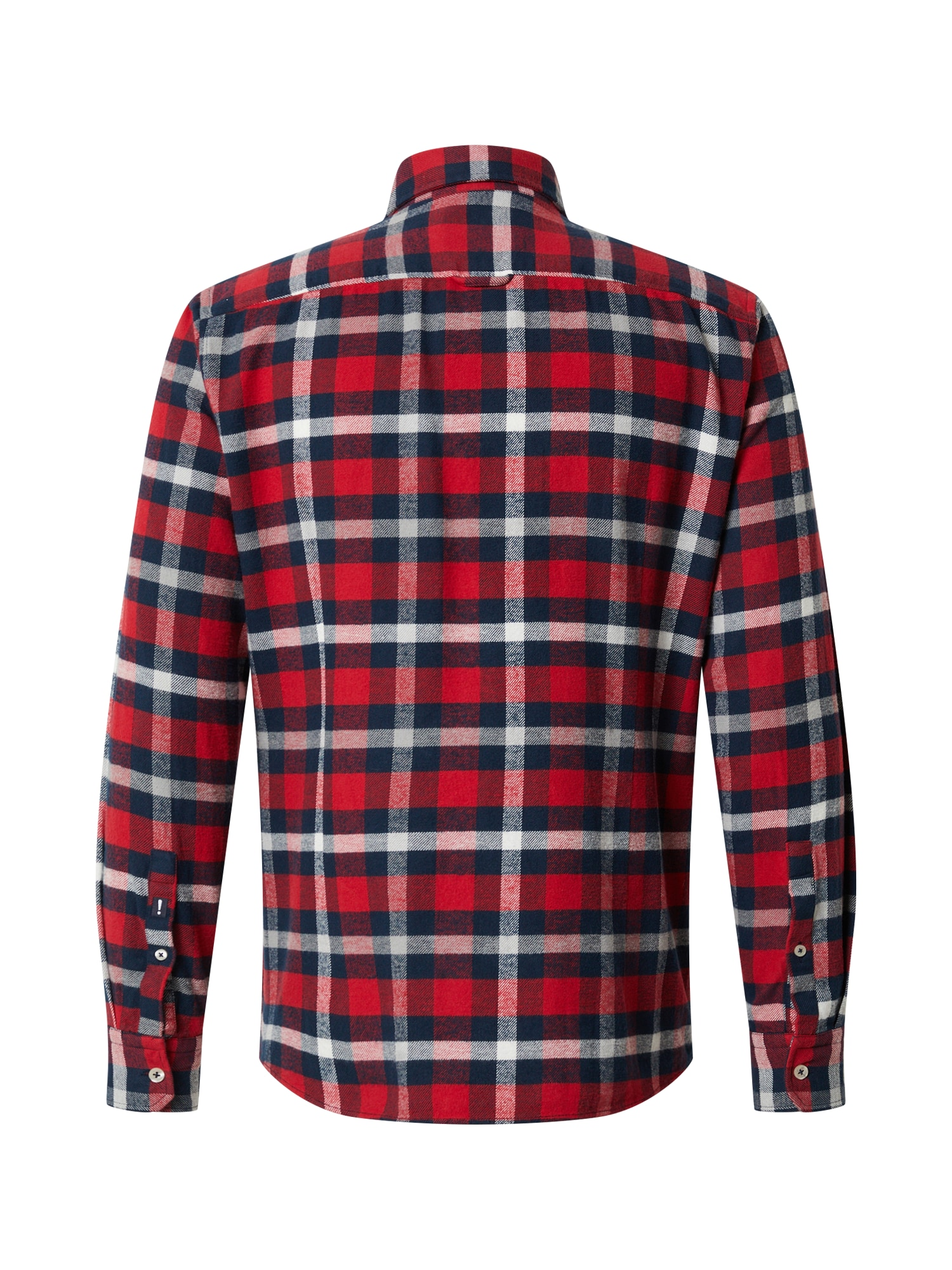 JOOP! Jeans Skjorta 'Hanson'  röd / marinblå / vit