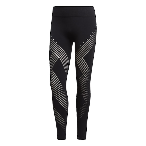 Sportmode für Frauen - Tight 'Warp Knit High Rise' › ADIDAS PERFORMANCE › schwarz  - Onlineshop ABOUT YOU
