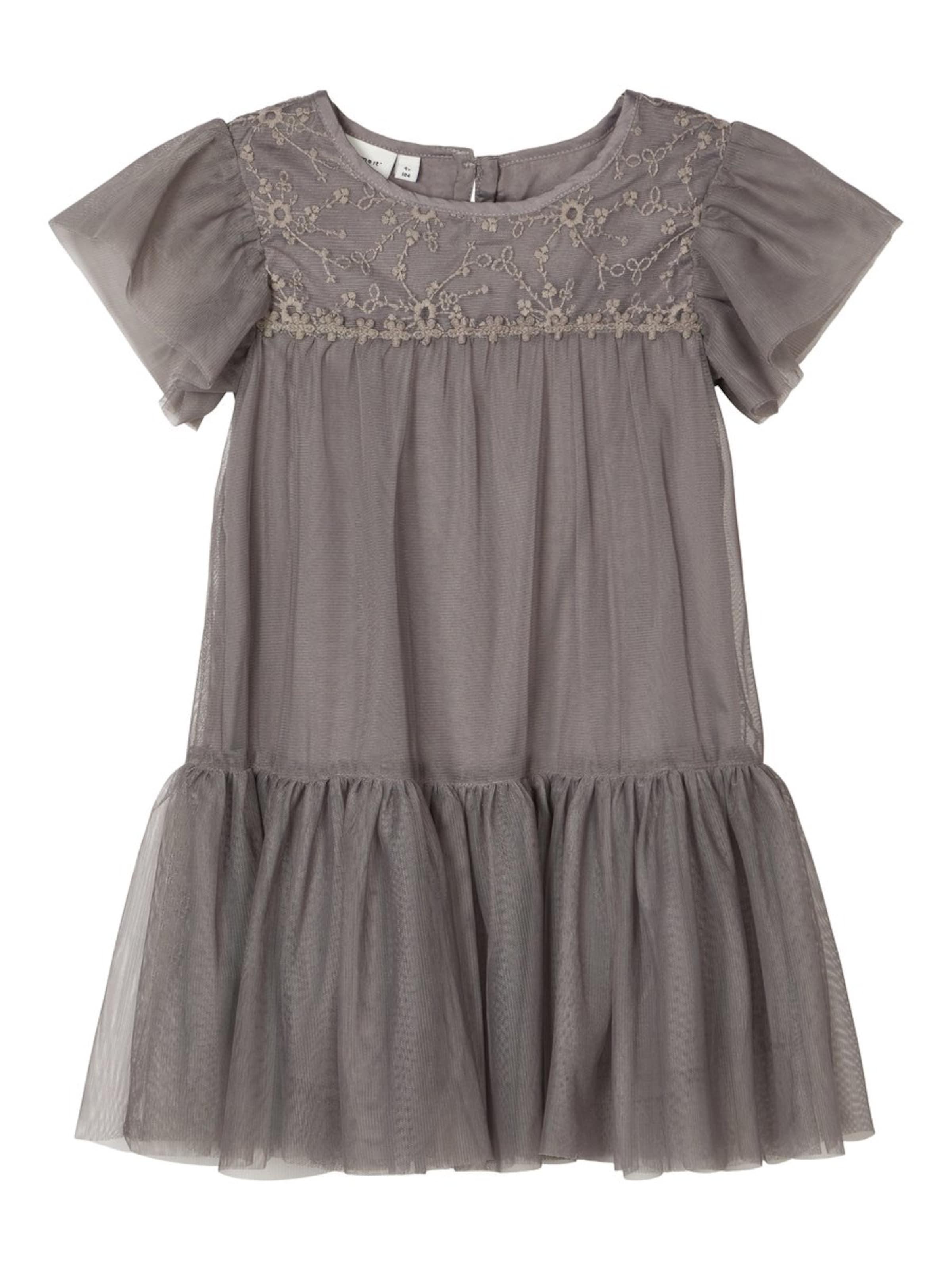 Kinder,  Mädchen,  Kinder NAME IT Kleid rot, weiß | 05714492115351