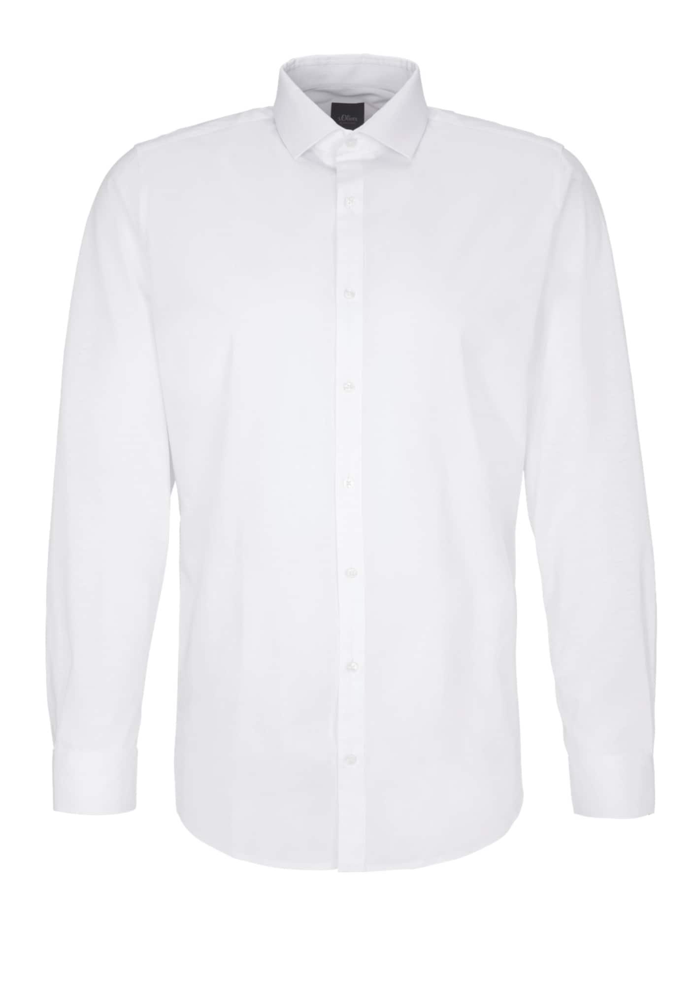 s.Oliver BLACK LABEL Marškiniai balta
