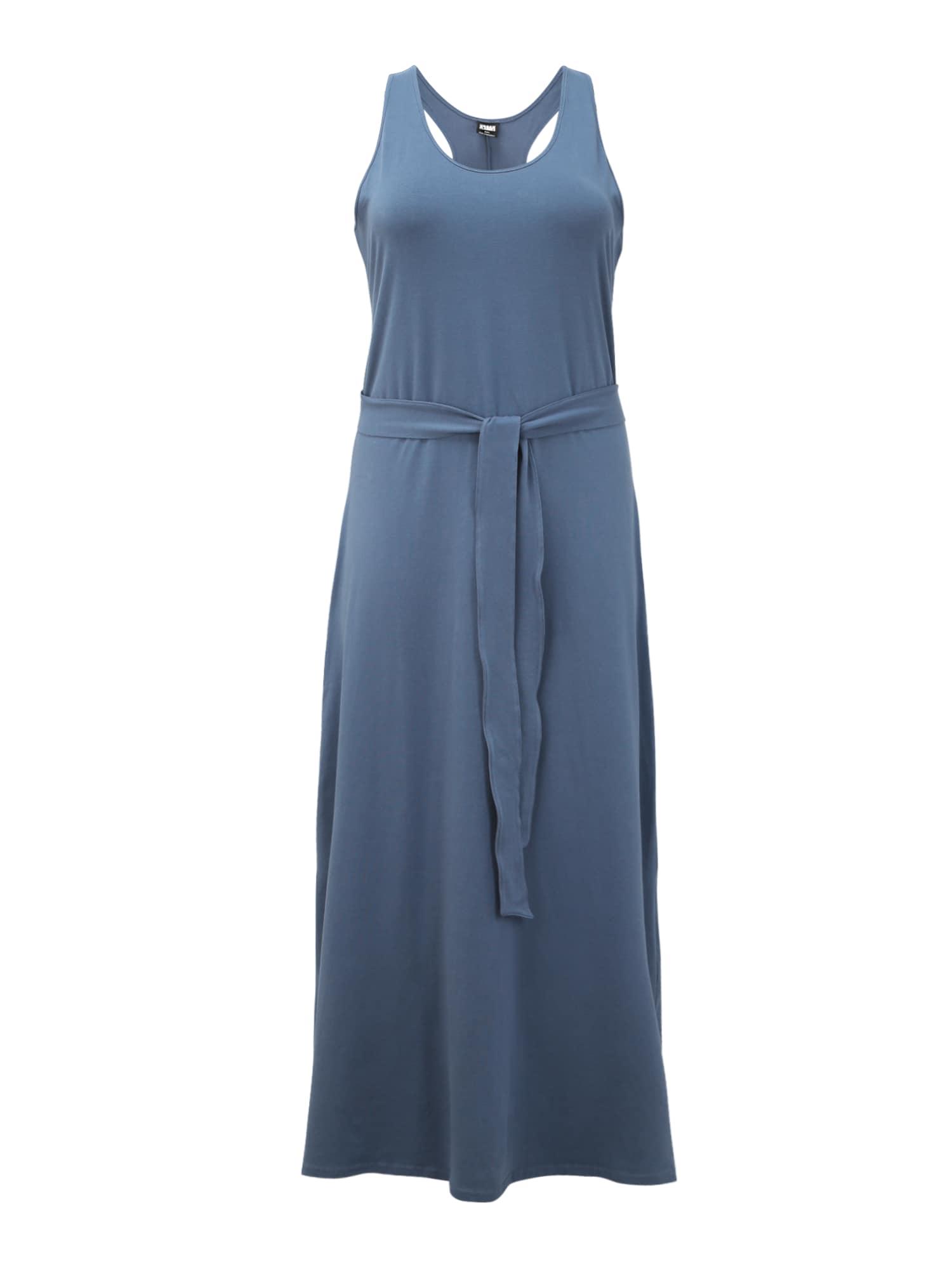 Urban Classics Curvy Vasarinė suknelė mėlyna