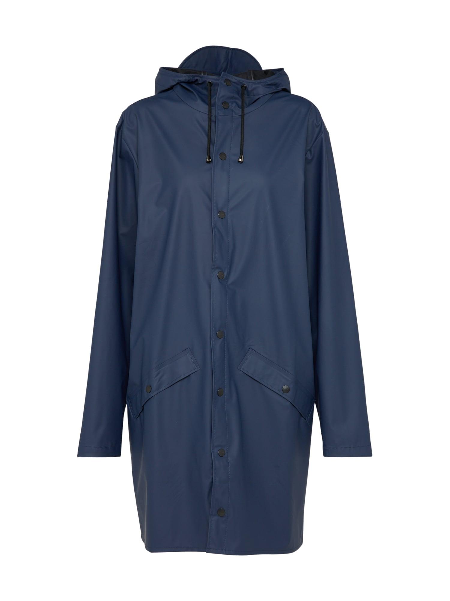 RAINS Demisezoninis paltas tamsiai mėlyna