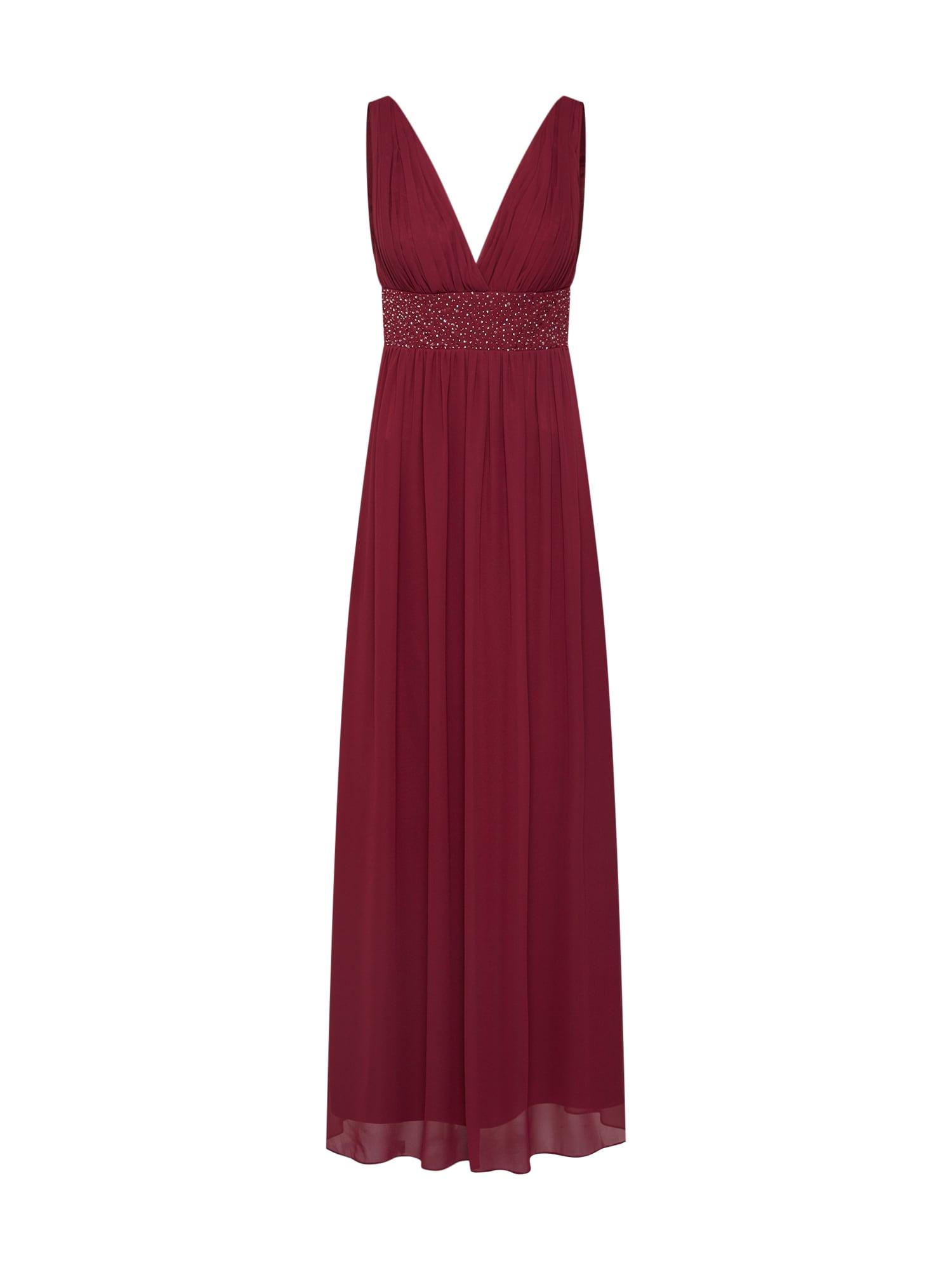 SWING Vakarinė suknelė kraujo spalva