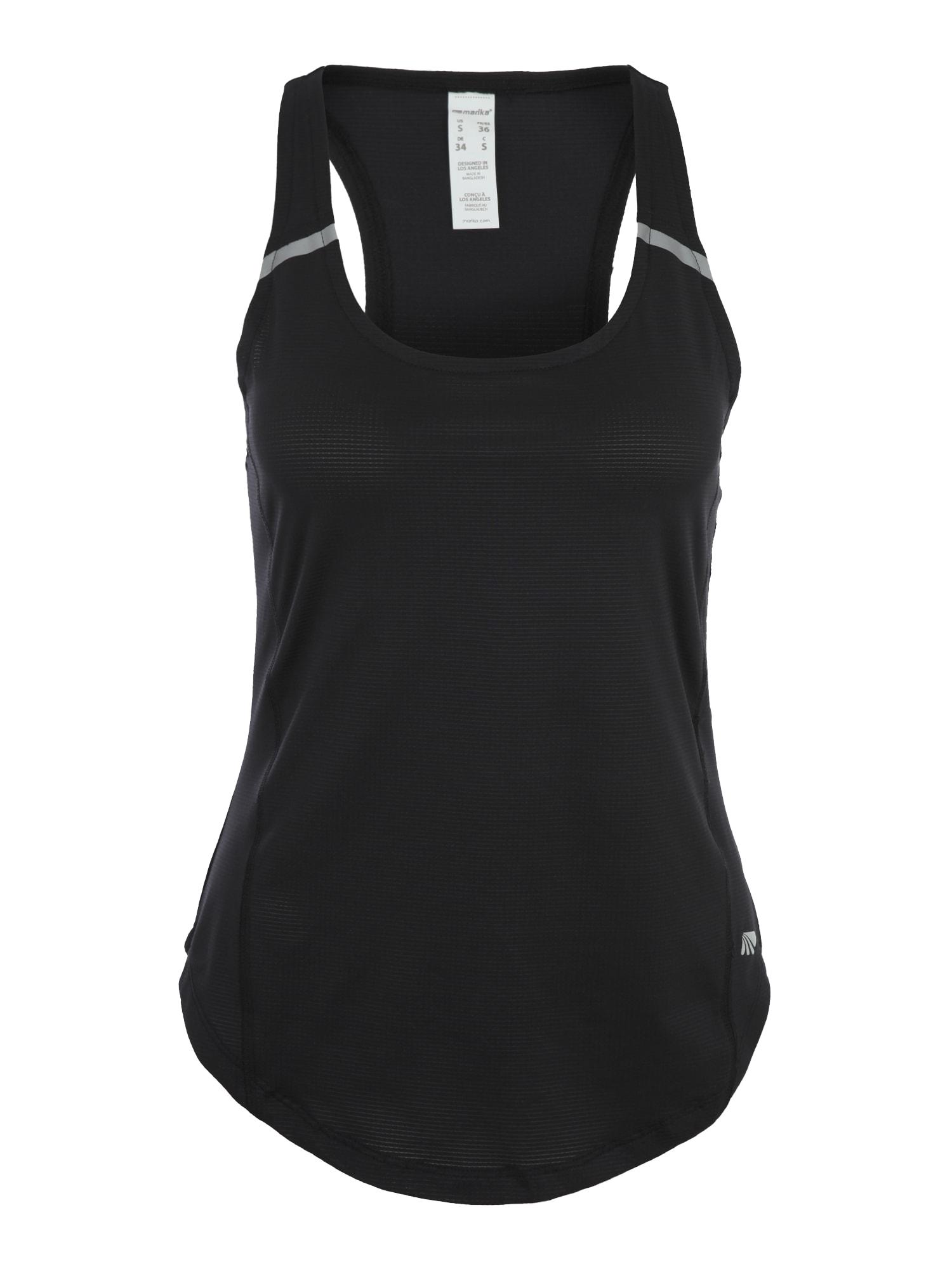 Funkční tričko INFINITY SINGLET černá Marika