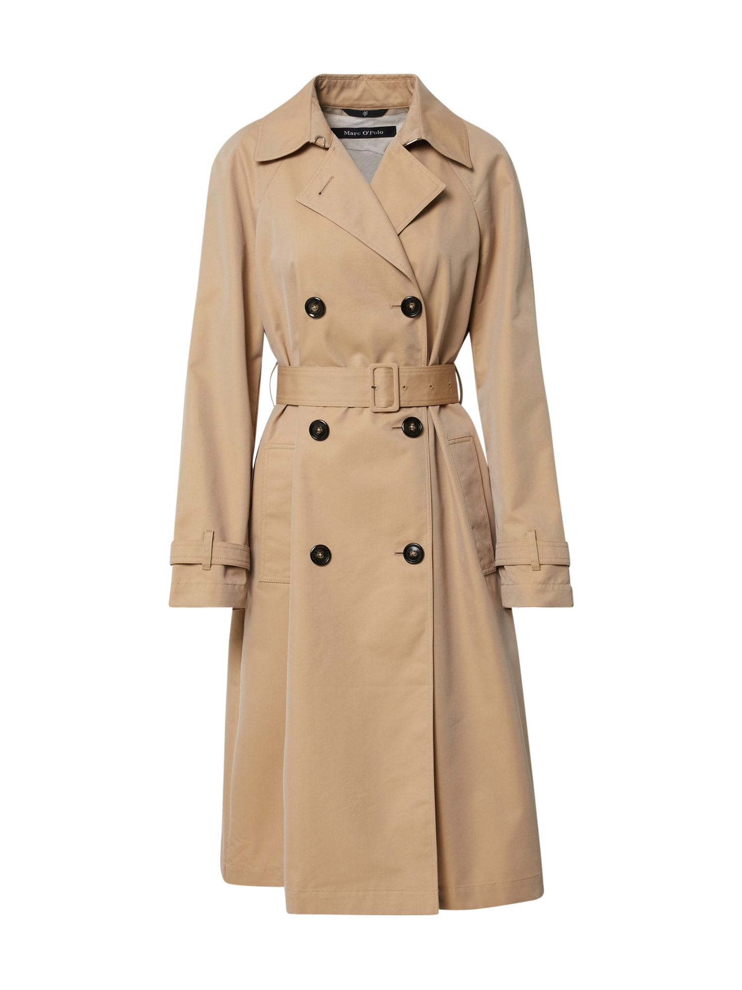 Marc O'Polo Rudeninis-žieminis paltas tamsiai smėlinė