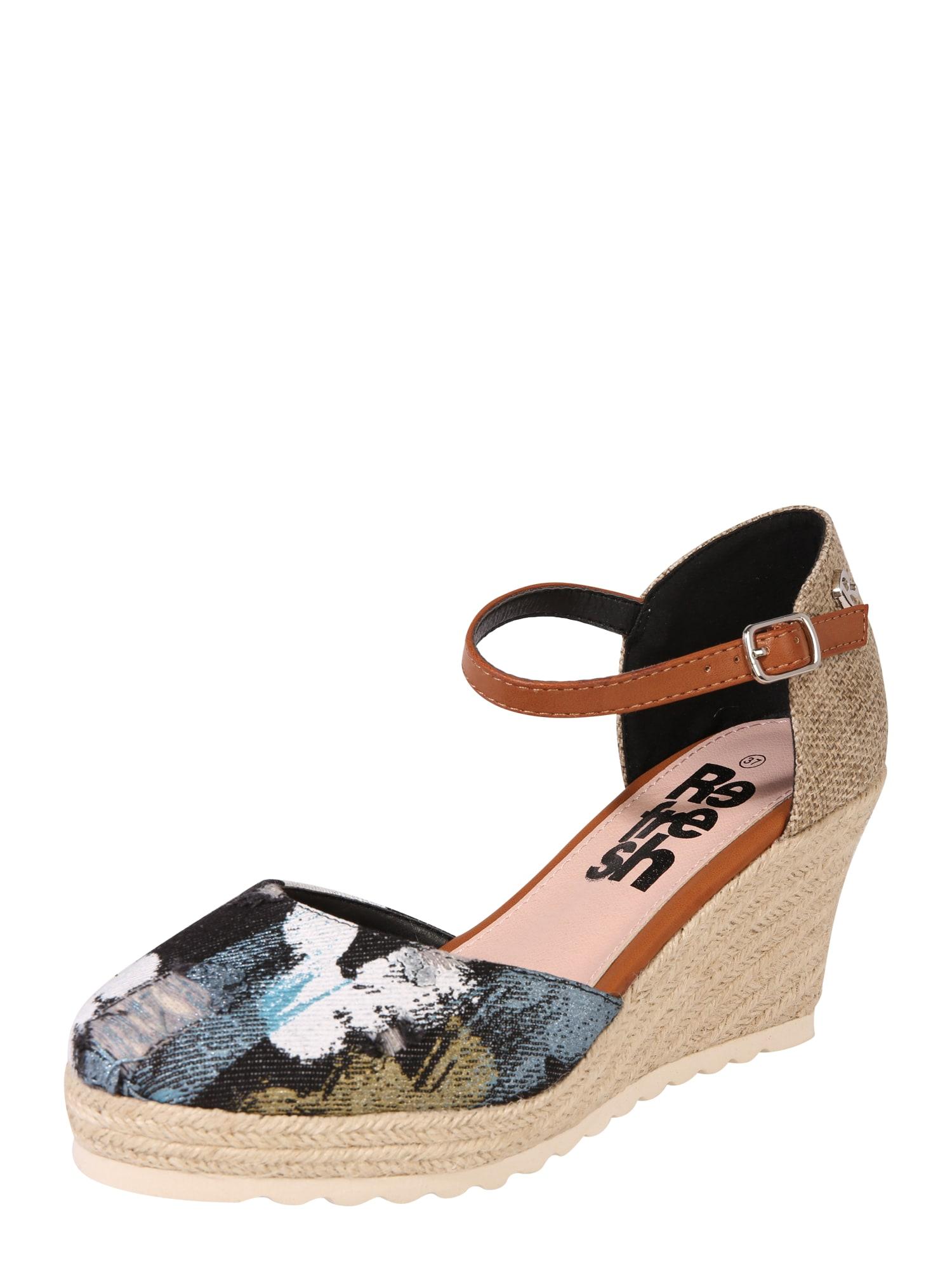 Sandály černá Refresh