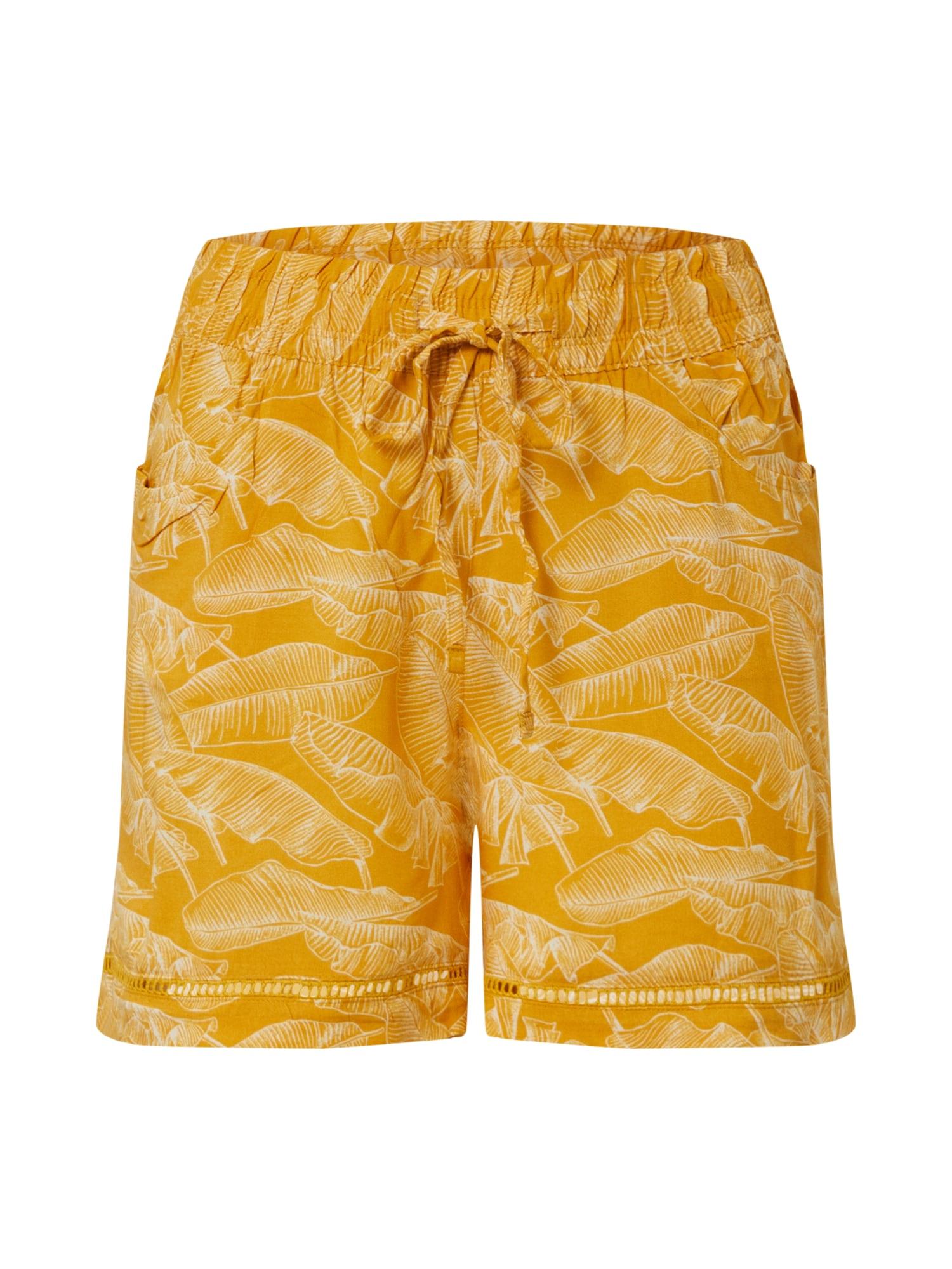 Sublevel Kelnės aukso geltonumo spalva