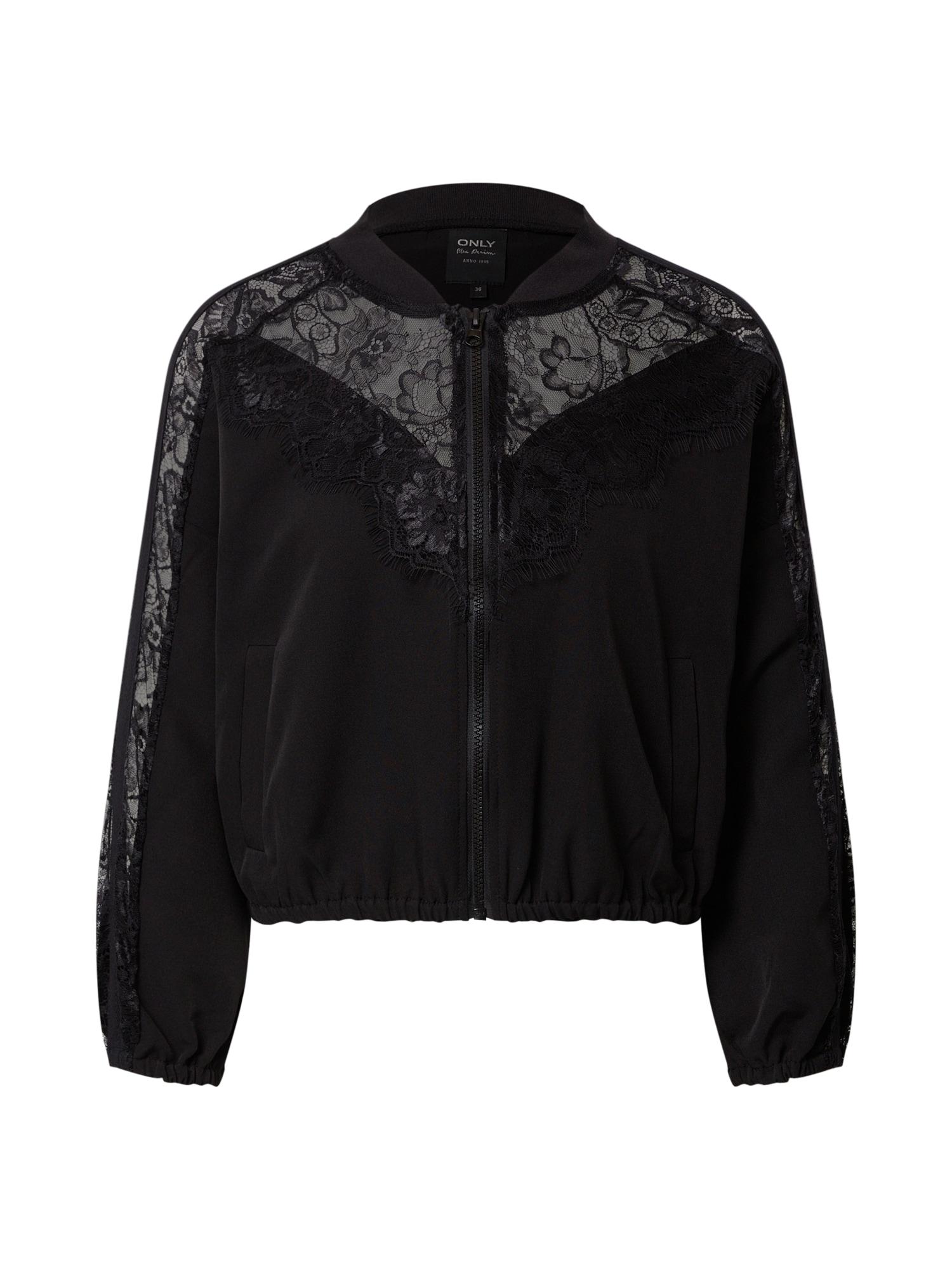 ONLY Prechodná bunda 'MAELLE-ENNA'  čierna