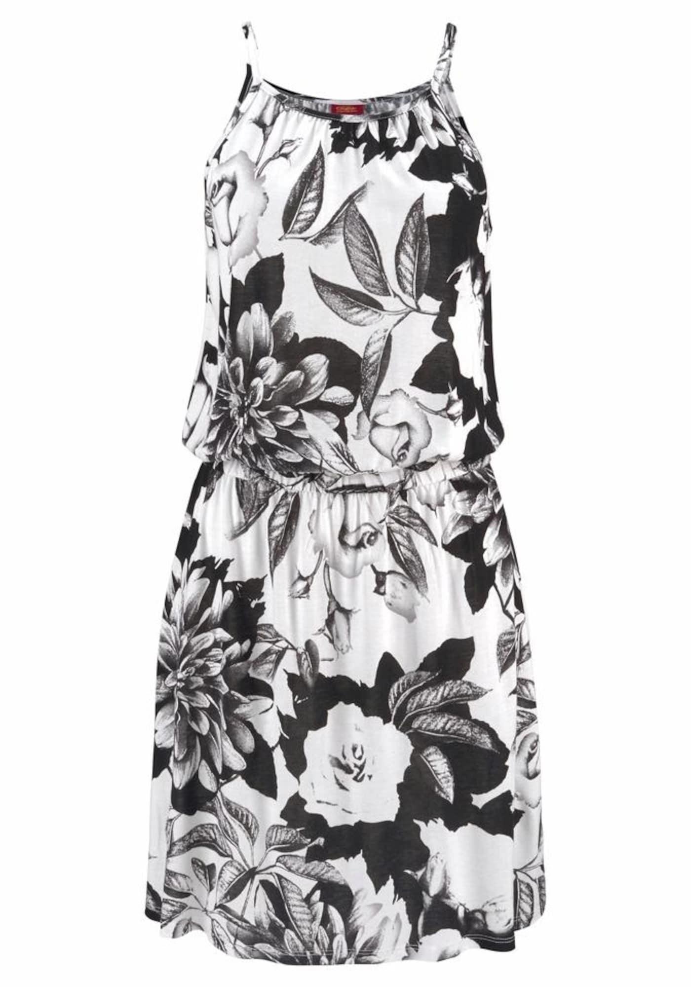 BUFFALO Paplūdimio suknelė juoda / balta