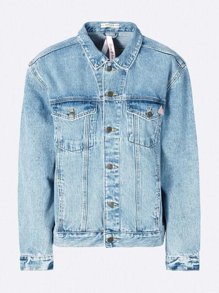 Jacken für Frauen - GUESS Jeansjacke blue denim  - Onlineshop ABOUT YOU