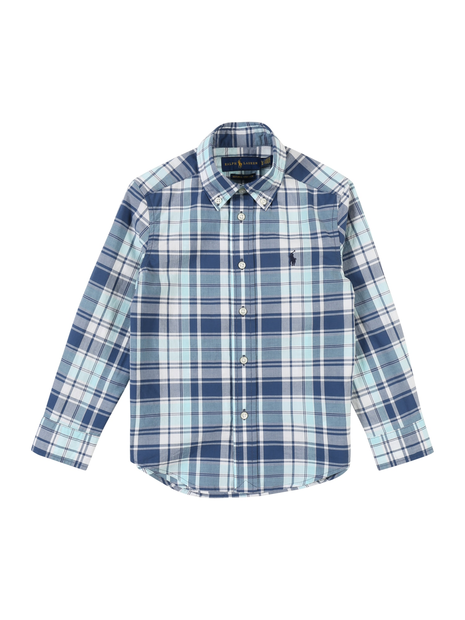 POLO RALPH LAUREN Košeľa  biela / modré