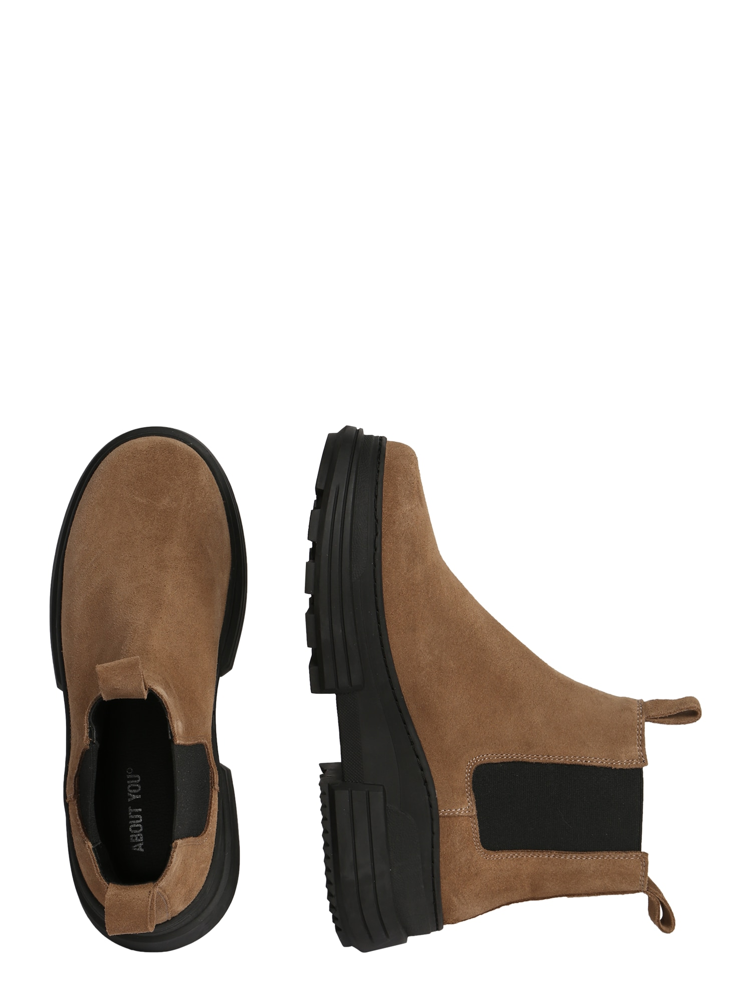 ABOUT YOU Chelsea boots 'Theresa'  taupe