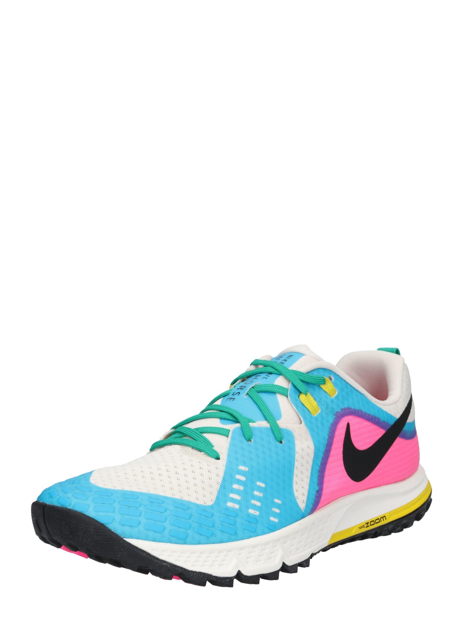 Běžecká obuv AIR ZOOM WILDHORSE 5 modrá pink bílá NIKE