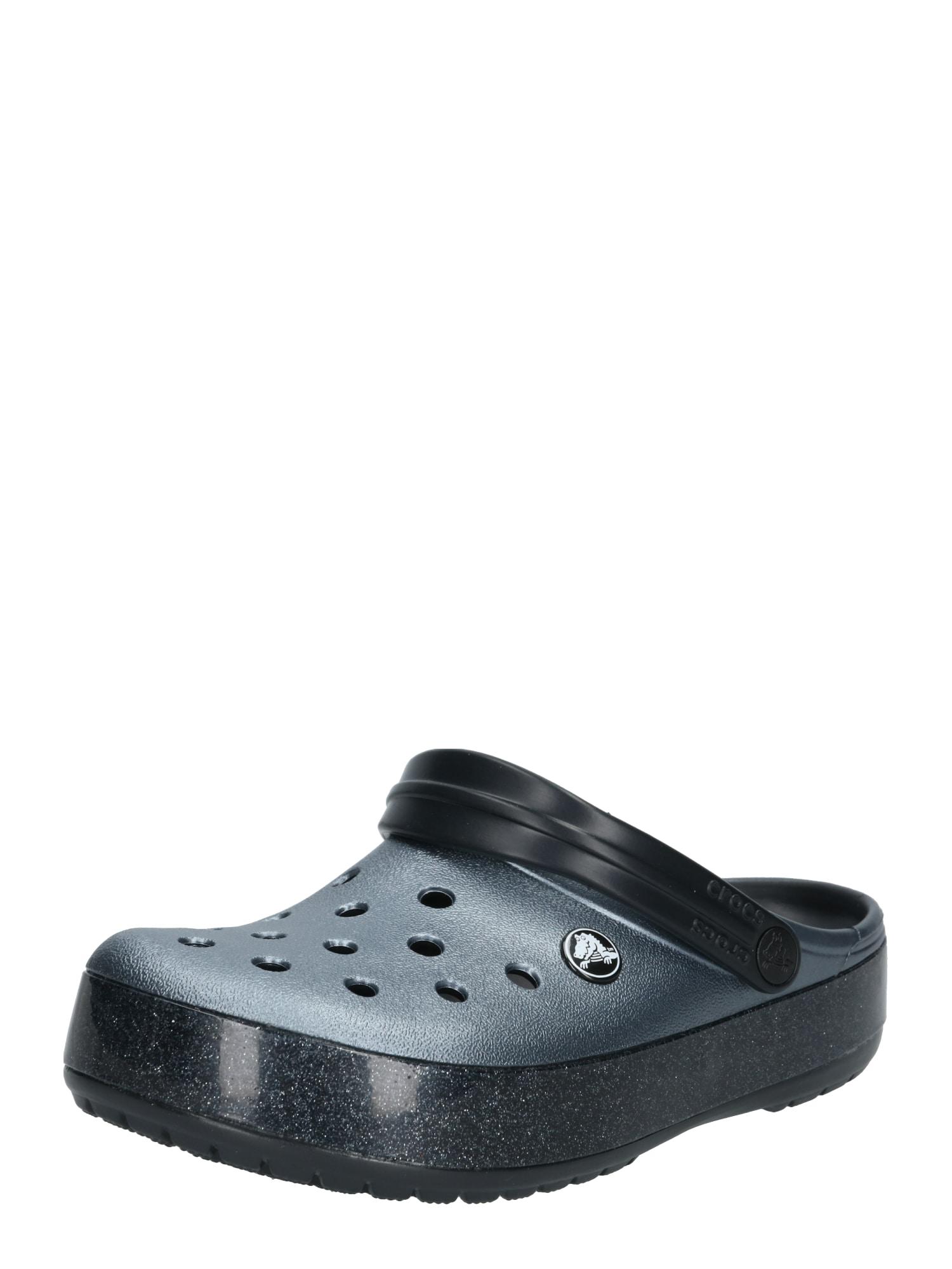 Pantofle Crocband Printed Clog černá Crocs
