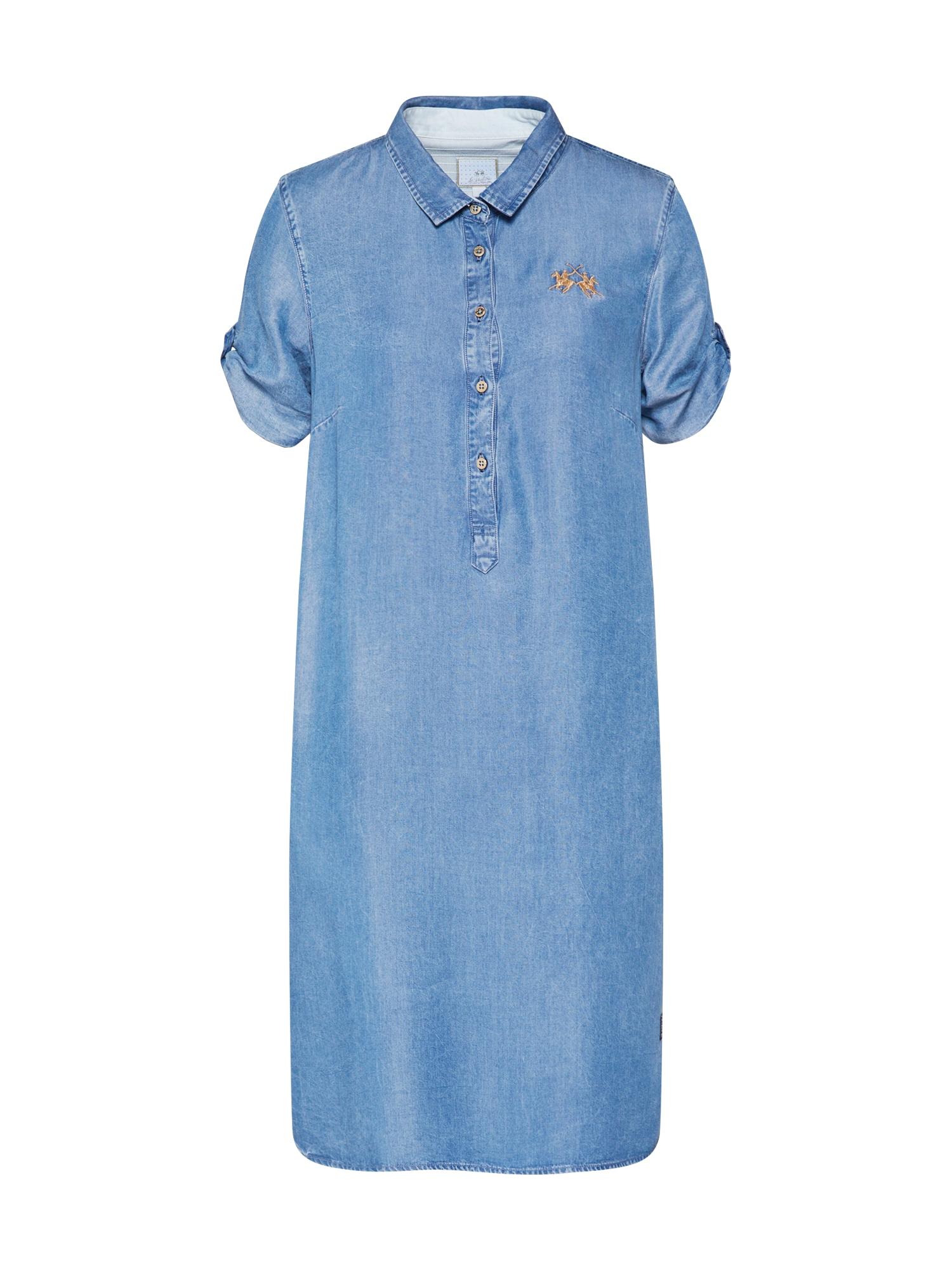 La Martina Palaidinės tipo suknelė 'PWD601-DM070' mėlyna