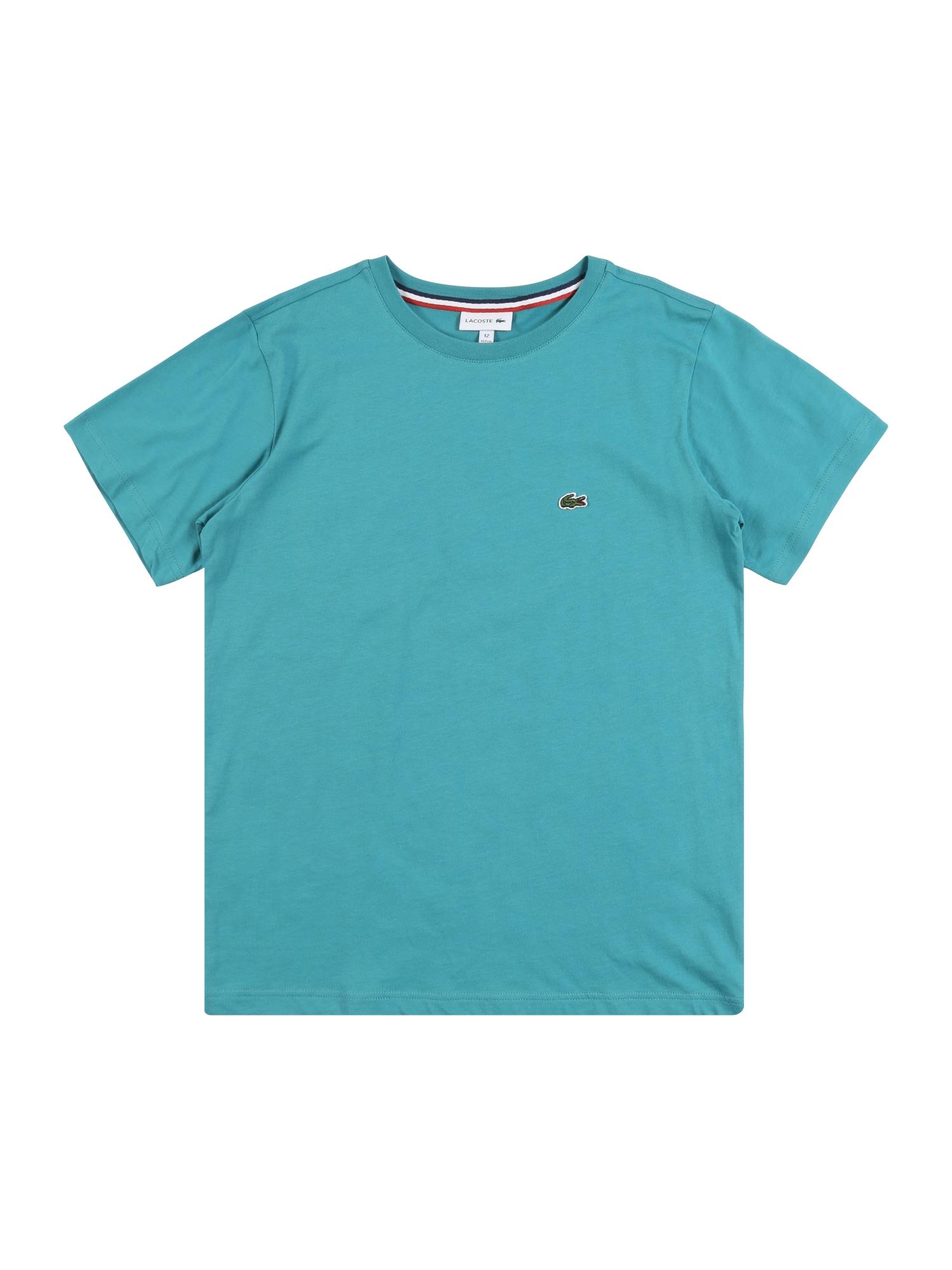LACOSTE Marškinėliai benzino spalva