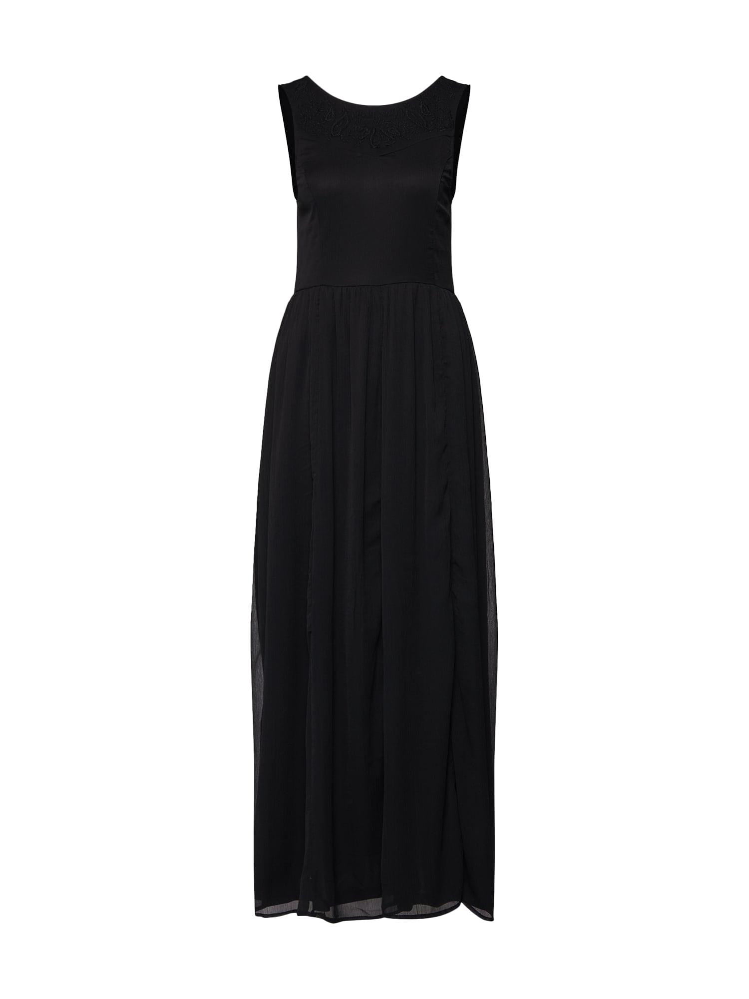 ABOUT YOU Vakarinė suknelė 'Charleen' juoda