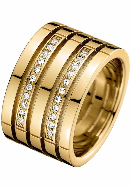 Ringe für Frauen - TOMMY HILFIGER Ring '2701027C' gold  - Onlineshop ABOUT YOU