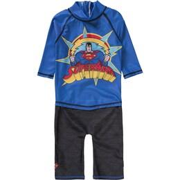 Kinder,Jungen Schwimmanzug SUPERMAN blau,gelb,rot,schwarz | 07394437348235
