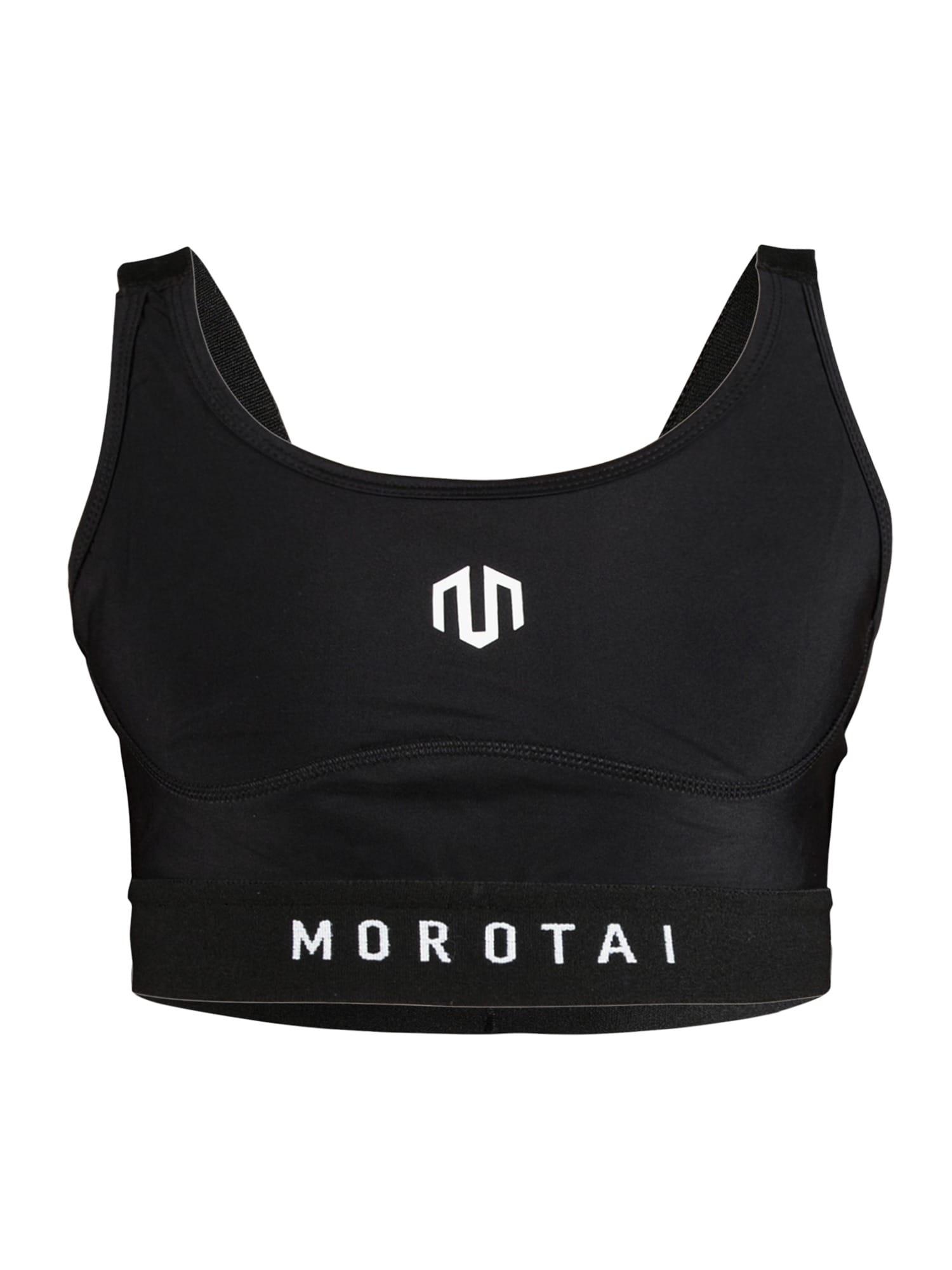 Sportovní podprsenka Endurance M-Back černá bílá MOROTAI
