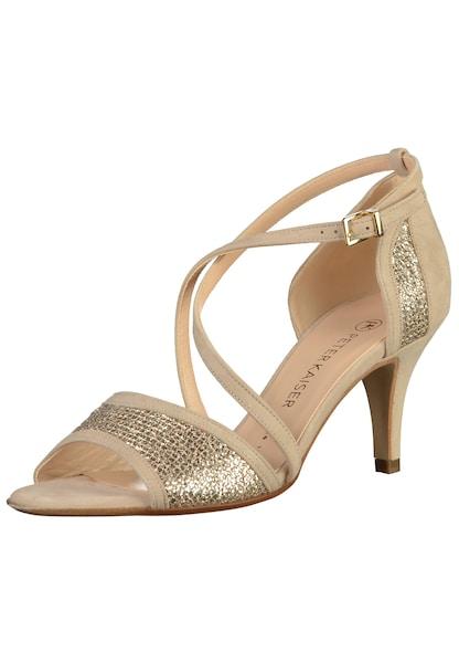 Sandalen für Frauen - Sandalen › Peter Kaiser › beige  - Onlineshop ABOUT YOU