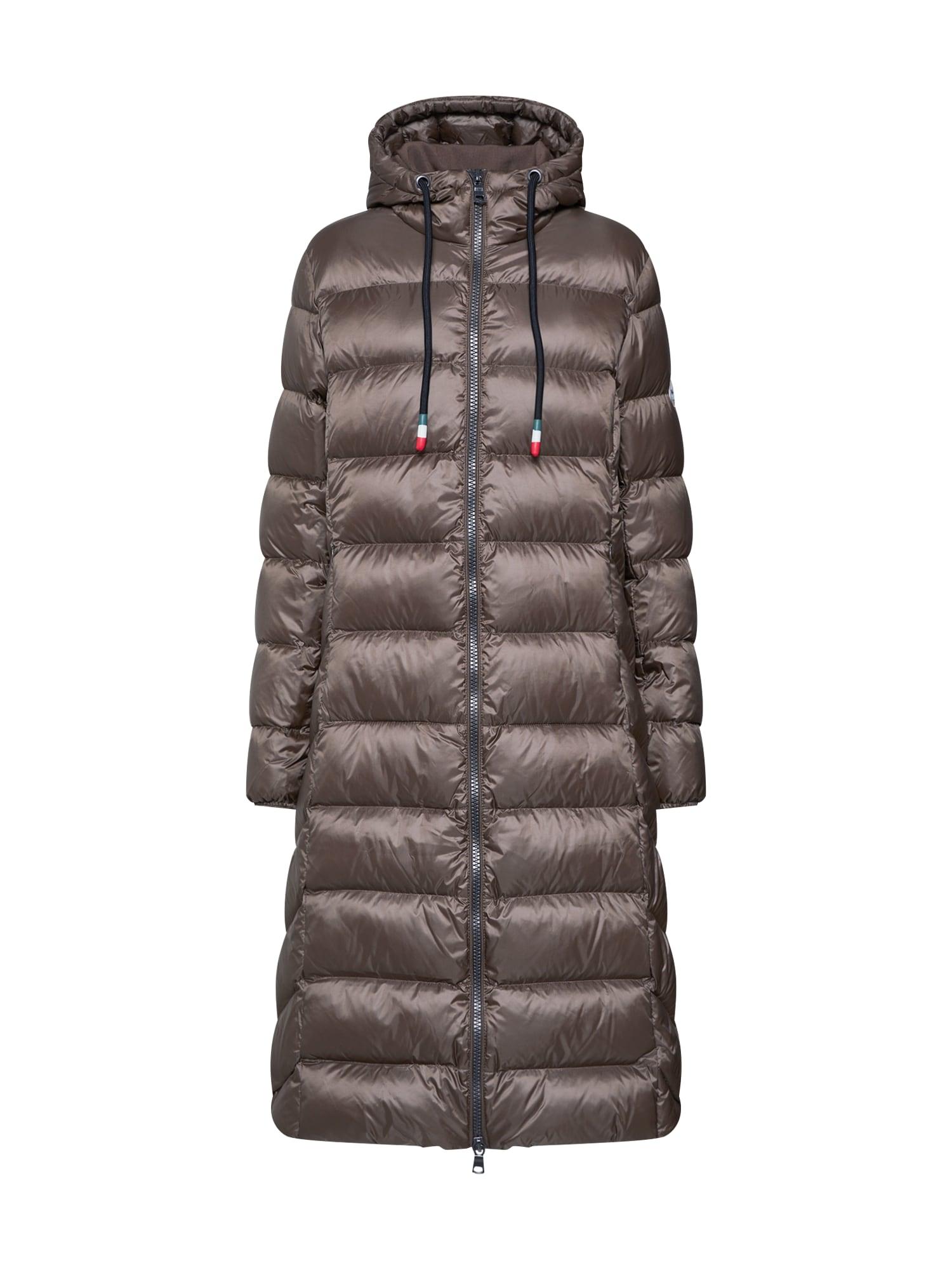 No. 1 Como Žieminis paltas 'IDA' rausvai pilka