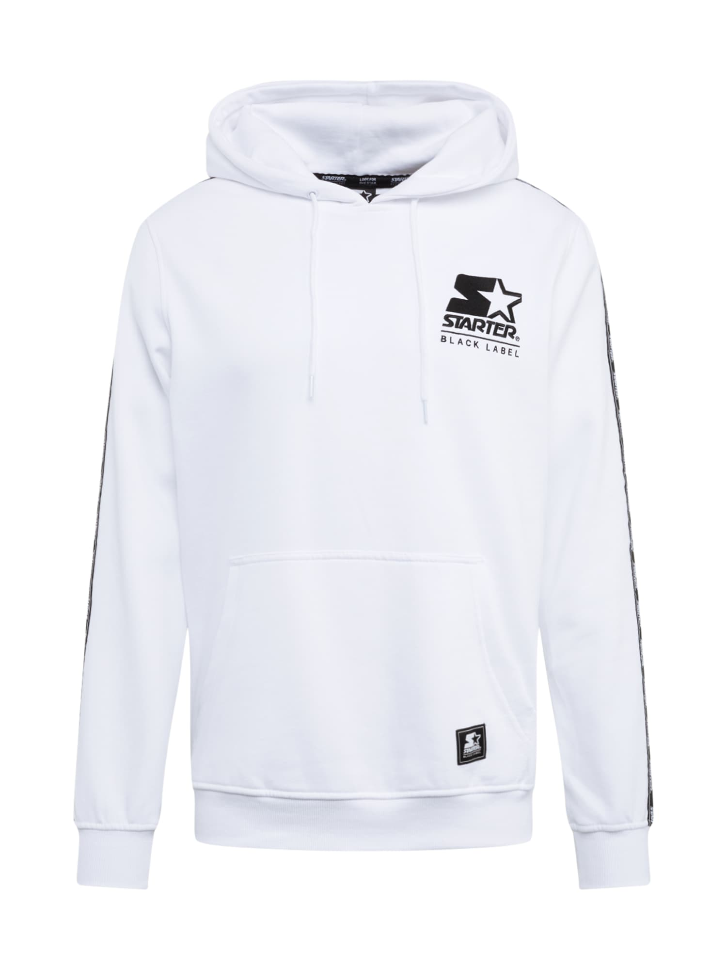 Starter Black Label Megztinis be užsegimo balta / juoda