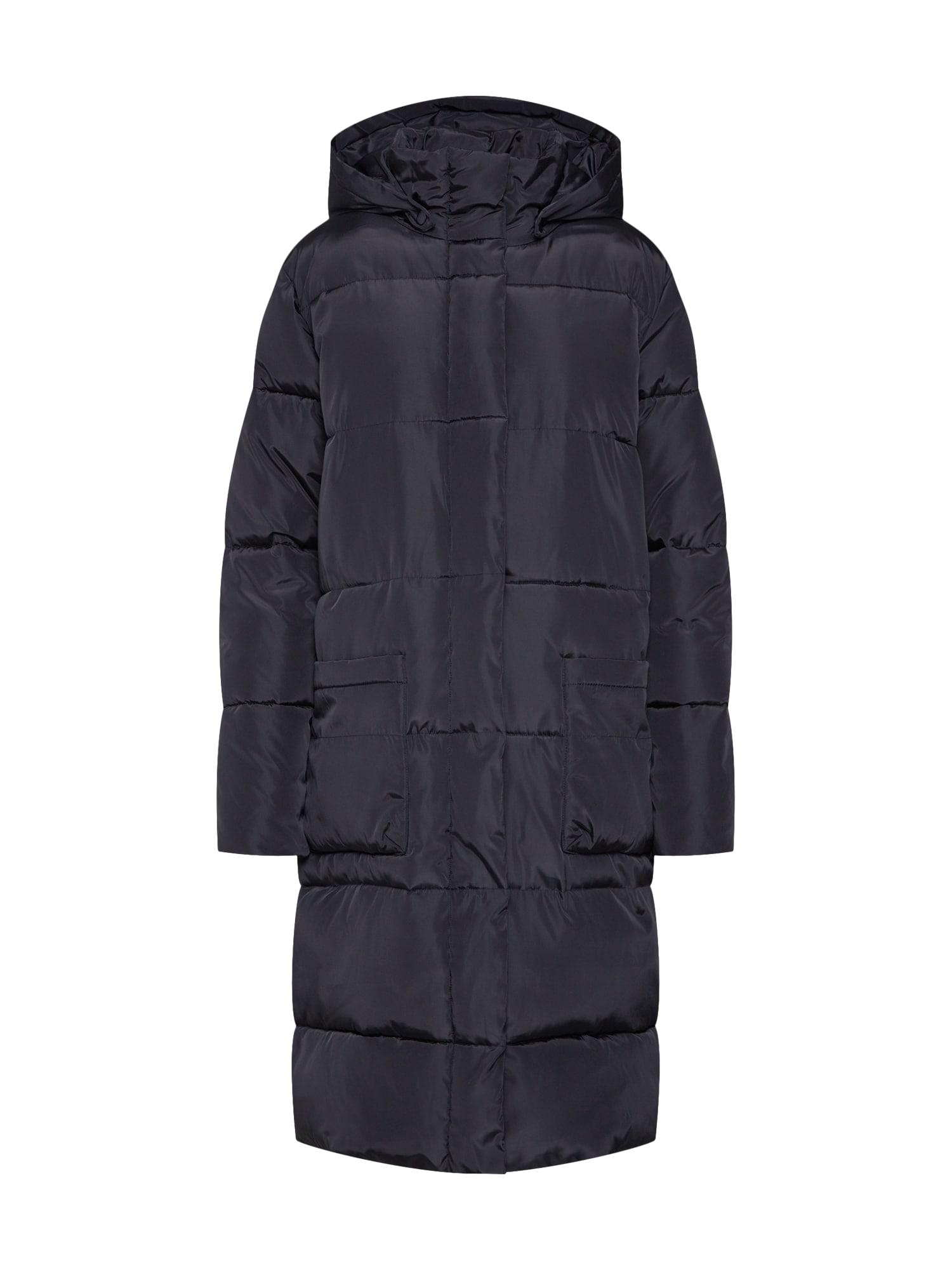 basic apparel Žieminis paltas 'Dagmar' juoda