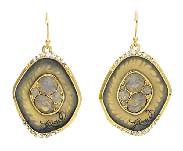 Ohrringe für Frauen - GUESS Ohrhänger 'UBE31216' gold grau  - Onlineshop ABOUT YOU