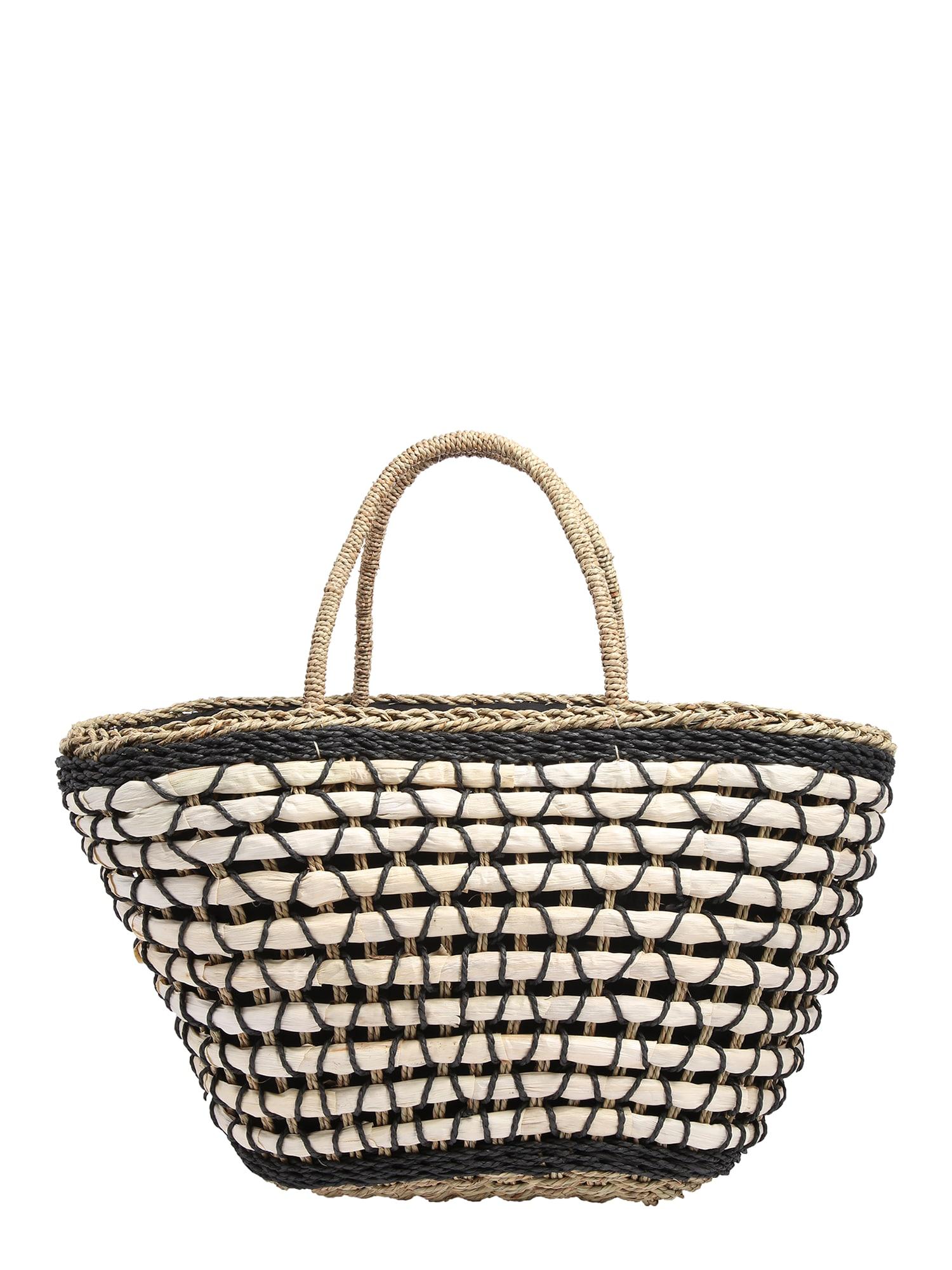 BeckSöndergaard Pirkinių krepšys 'Basia ' juoda