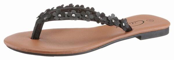 Sandalen für Frauen - CITY WALK Zehentrenner schwarz  - Onlineshop ABOUT YOU