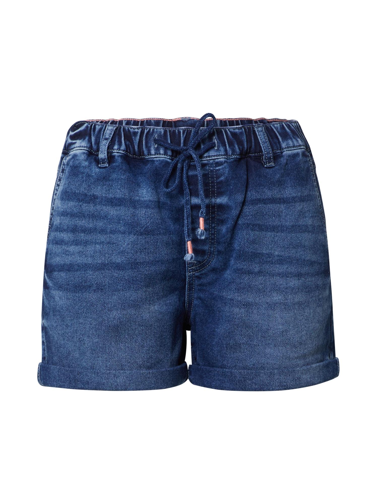 EDC BY ESPRIT Pižaminės kelnės tamsiai mėlyna / tamsiai (džinso) mėlyna