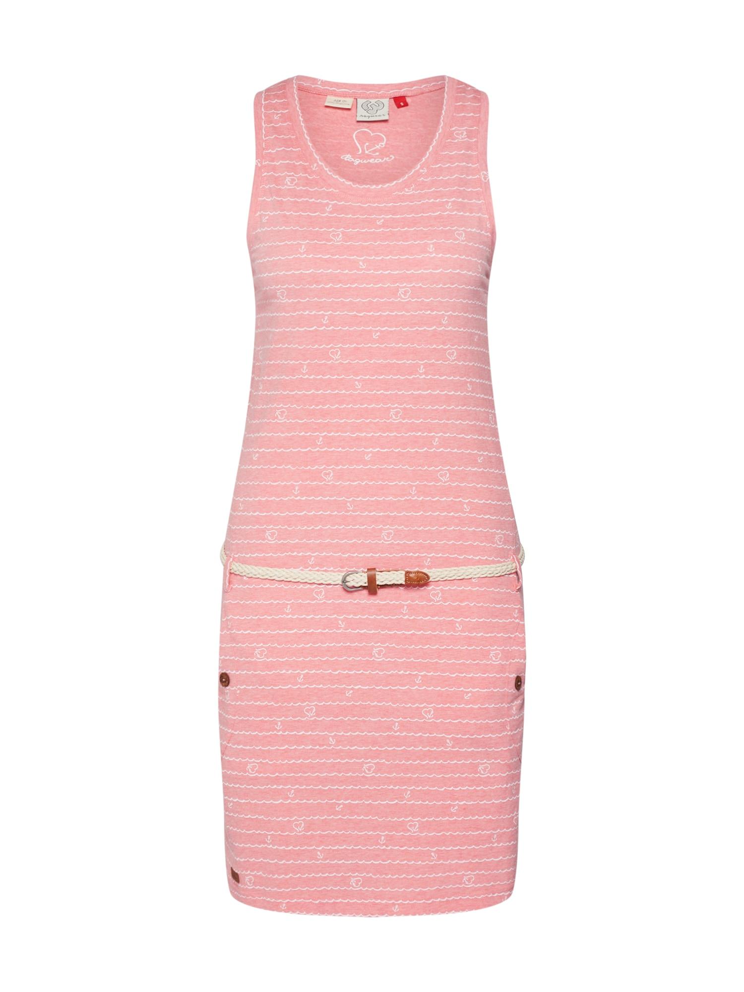 Ragwear Vasarinė suknelė 'Kesy' rožinė