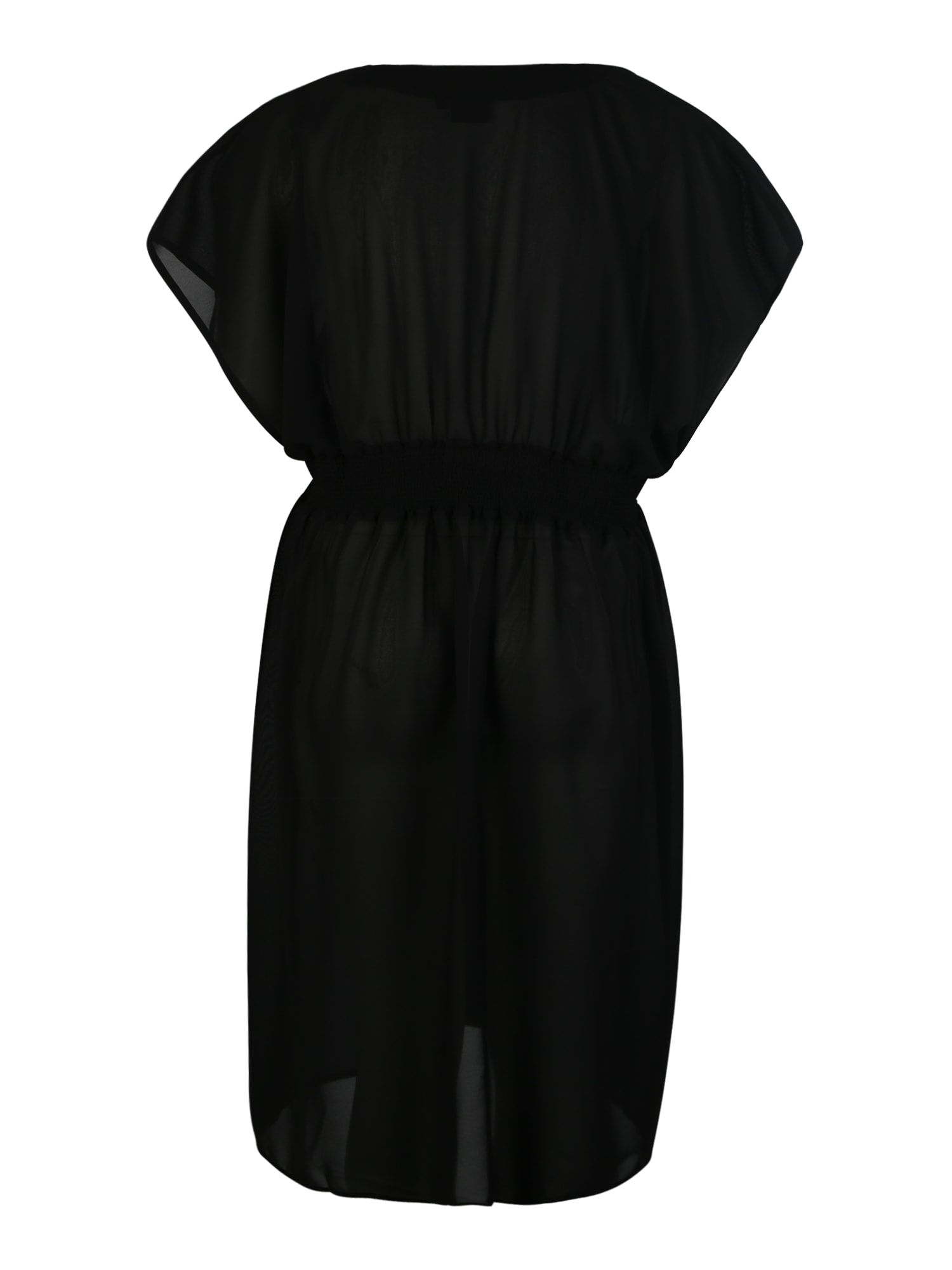 Plážové šaty černá Swim By Zizzi