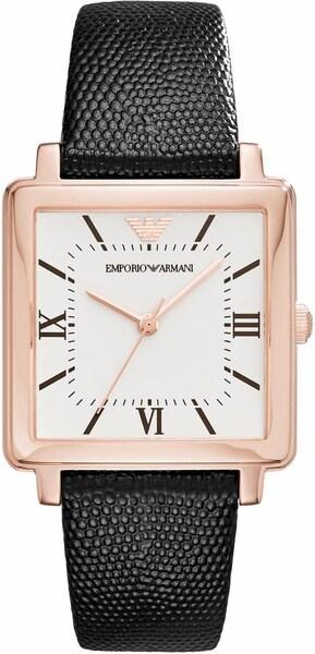 Uhren für Frauen - Emporio Armani Quarzuhr 'AR11067' rosegold schwarz  - Onlineshop ABOUT YOU