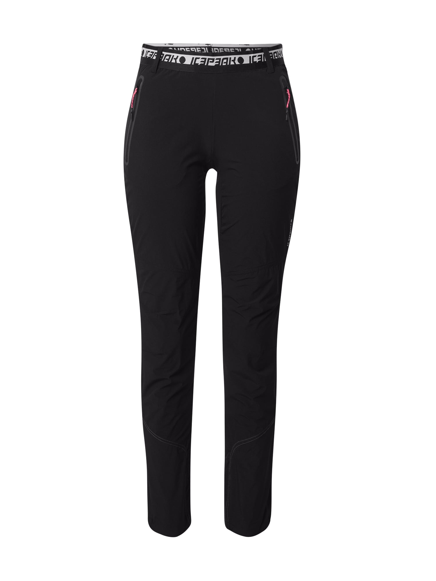 ICEPEAK Športové nohavice  čierna