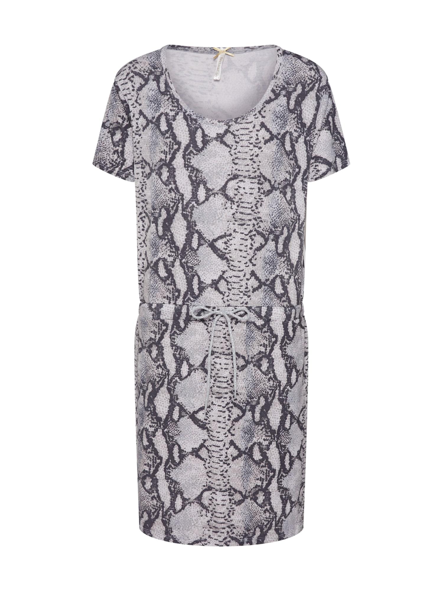 Letní šaty CLEOPATRA stříbrně šedá Key Largo