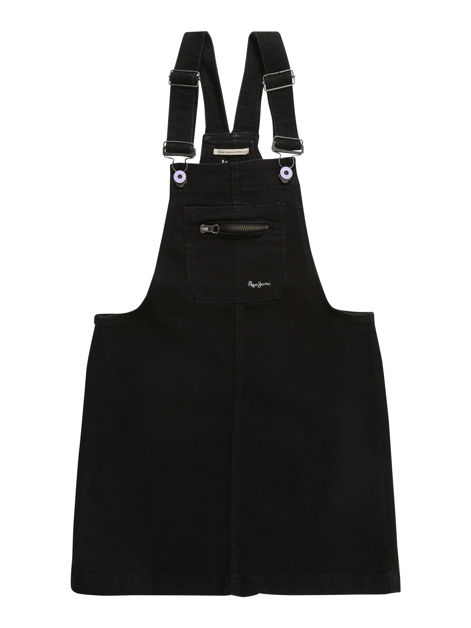 Šaty PITCH DRESS černá džínovina Pepe Jeans