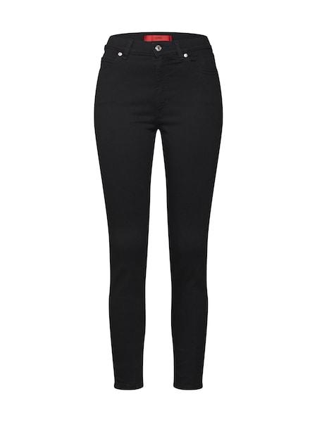 Hosen für Frauen - Jeans 'Gerna 15' › HUGO › schwarz  - Onlineshop ABOUT YOU