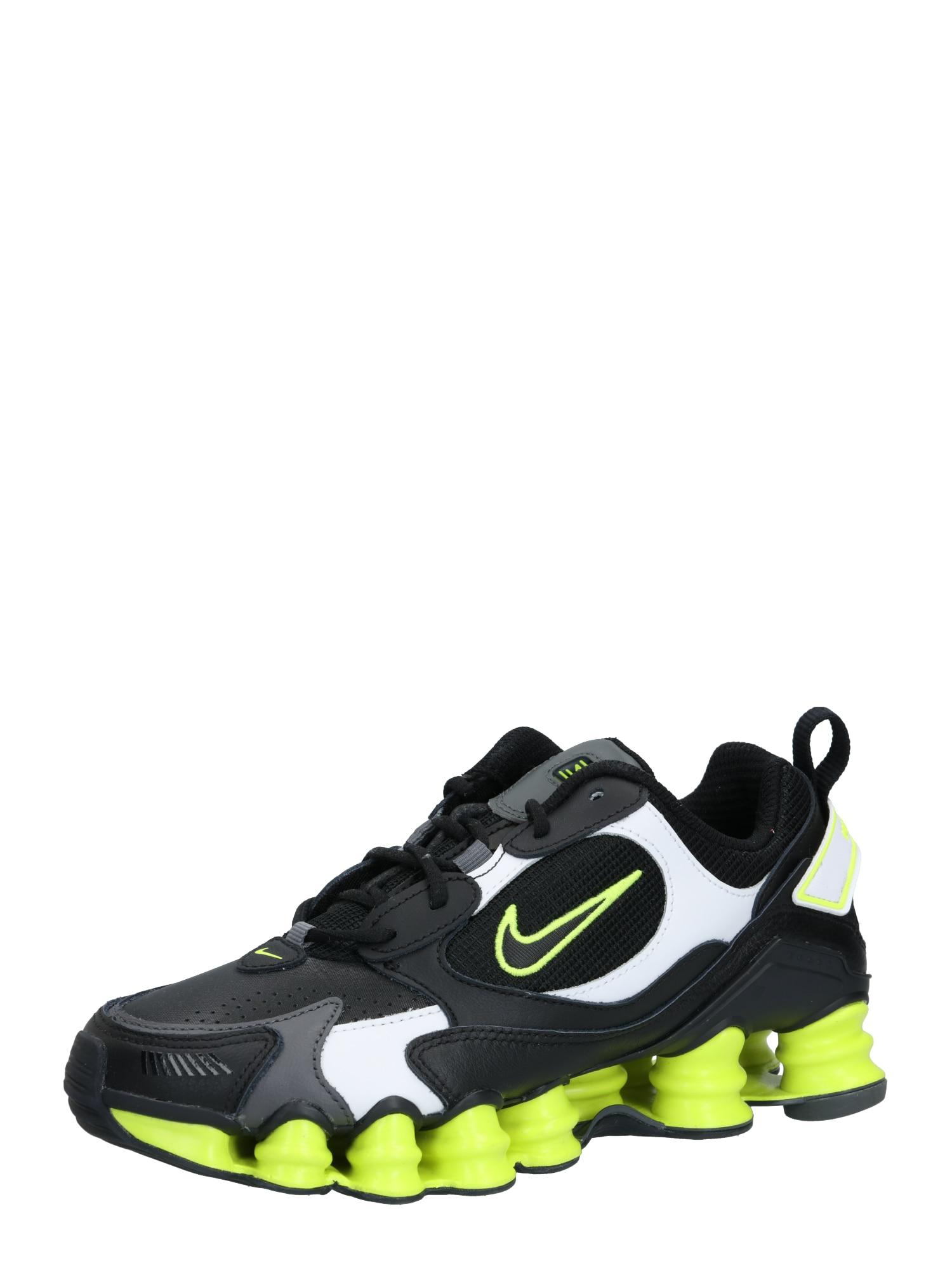 Nike Sportswear Sportbačiai be auliuko 'Nike Shox TL Nova' citrinos spalva / juoda / pilka