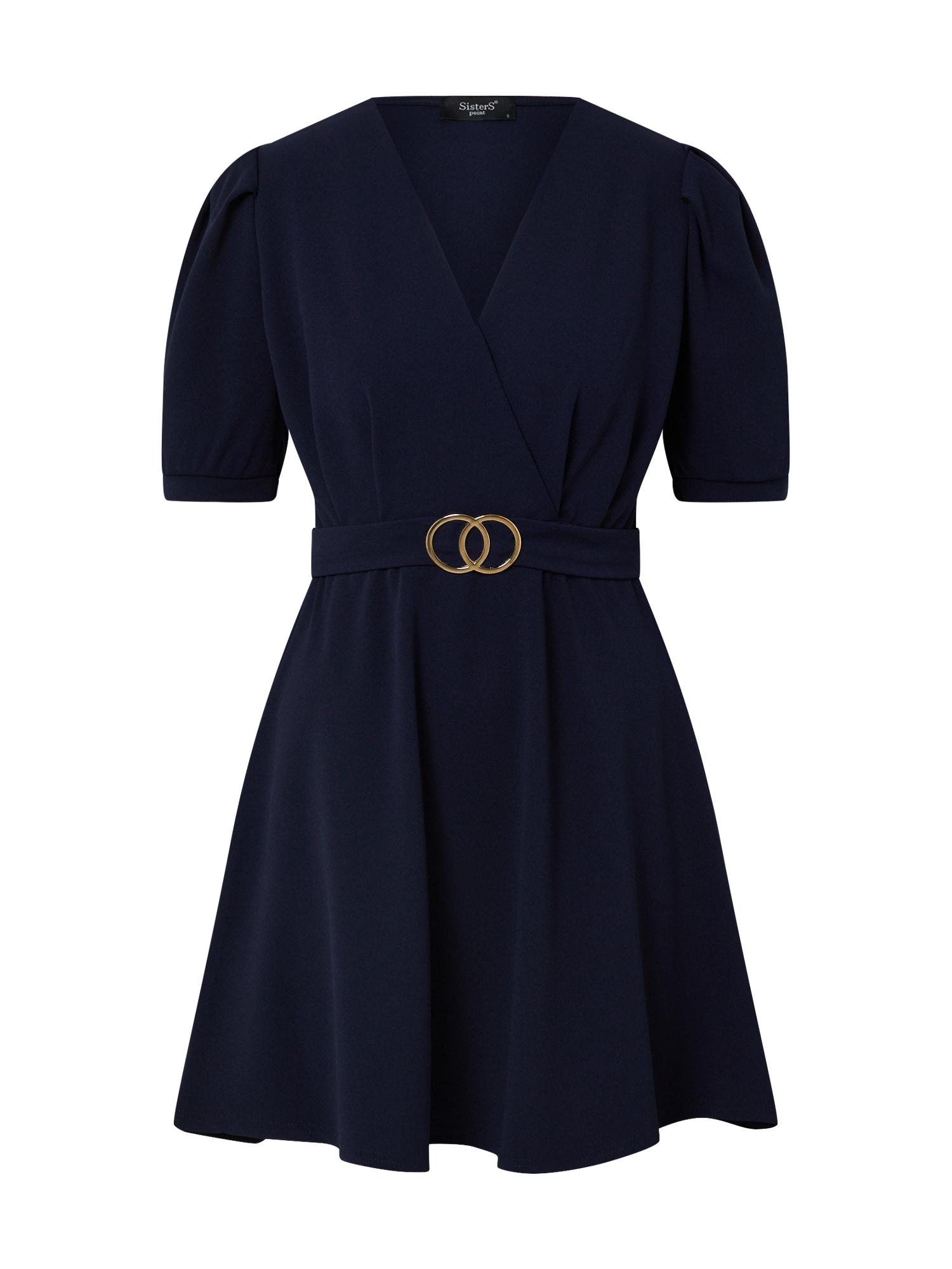 SISTERS POINT Suknelė 'NEX-DR' tamsiai mėlyna