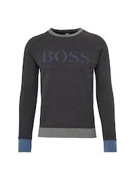 BOSS Herren Sweatshirt Wenga blau,grau,schwarz   04029046508628